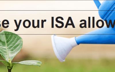 #TopTipTuesday: Maximise Your ISA Allowance